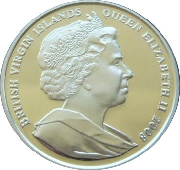 British Virgin Islands   Dollars Silver Proof Numista