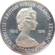 1 Dollar - Elizabeth II (Coronation Jubilee) – obverse