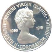 10 Cents - Elizabeth II (Coronation) – obverse