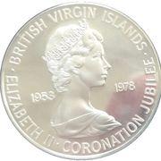 25 Cents - Elizabeth II (Coronation Jubilee) – obverse