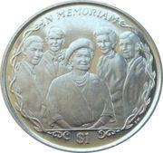 1 Dollar - Elizabeth II (Queen Mother with Grandchildren) – reverse
