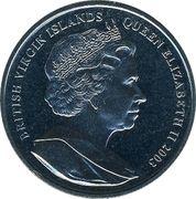 1 Dollar - Elizabeth II (The Funeral Of Elizabeth I) – obverse