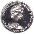 1 Cent - Elizabeth II (Silver Jubilee) – obverse