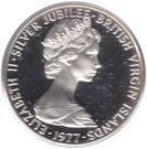 10 Cents - Elizabeth II (Silver Jubilee) – obverse