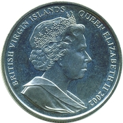 1 Dollar - Elizabeth II (Sir Francis Drake) – obverse