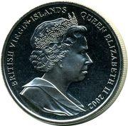 1 Dollar - Elizabeth II (Queen Mother's coffin) – obverse