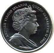 1 Dollar - Elizabeth II (King Henry VIII and Princess Elizabeth) – obverse