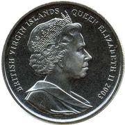 1 Dollar - Elizabeth II (Matthew Parker - Archbishop of Canterbury) – obverse