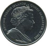 1 Dollar - Elizabeth II (William Shakespeare) – obverse