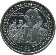 1 Dollar - Elizabeth II (William Shakespeare) – reverse