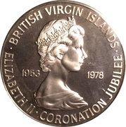 50 Cents - Elizabeth II (Jubilee) – obverse