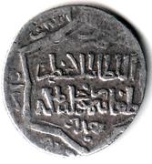 "2 Dirhams - ""Ilkhan"" Taghay Timur - 1337-1353 AD (Baghdad mint) – obverse"