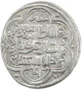 "2 Dirhams - ""Ilkhan"" Sati Beg - 1338-1339 AD (Chobanid candidate) – obverse"