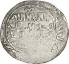 "Dirham - ""Ilkhan"" Abaqa Khan - 1265-1282 AD (House of Hulagu - Mongol king) – obverse"