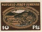 10 Pfennig (orange issue) – obverse