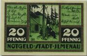 20 Pfennig (green issue) – obverse