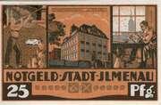 25 Pfennig (orange issue) – obverse
