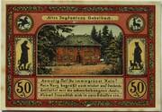 50 Pfennig (Goethe Series - Gabelbach) – reverse