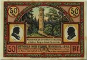 50 Pfennig (Goethe Series - Marktplatz) – obverse
