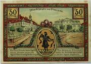 50 Pfennig (Goethe Series - Marktplatz) – reverse