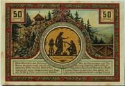 50 Pfennig (Goethe Series - Schwalbenstein) – reverse
