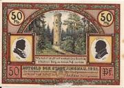 50 Pfennig (Goethe Series - Goethehäuschen) – obverse