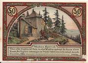 50 Pfennig (Goethe Series - Goethehäuschen) – reverse