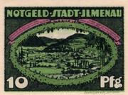 10 Pfennig (green issue) – obverse