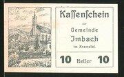 20 Heller (Imbach in Kremstal) -  obverse