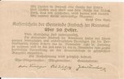 20 Heller (Imbach) -  reverse