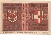 10 Heller (Imst) -  obverse