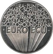 1 Euro / ECU (Europa) -  reverse