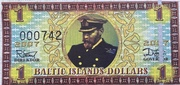 1 Baltic Islands Dollar – obverse