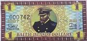 1 Baltic Islands Dollar – obverse