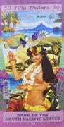50 Dollars (Bora Bora) – reverse