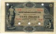 100 Francs (Banque Cantonale Neuchâteloise) – obverse