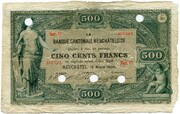 500 Francs (Banque Cantonale Neuchâteloise) – obverse