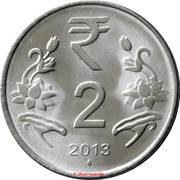 2 Rupees -  obverse
