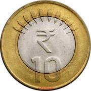 Indian 10-rupee coin