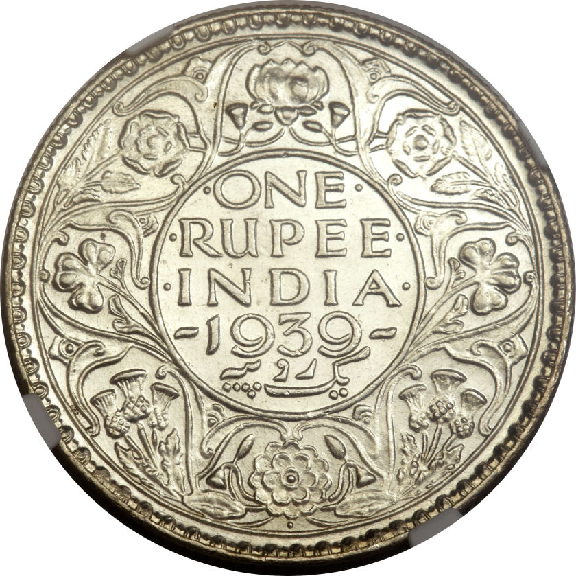 1 Rupee George Vi India British Numista