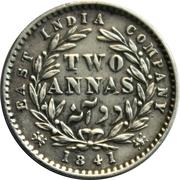 2 Annas - Victoria – reverse