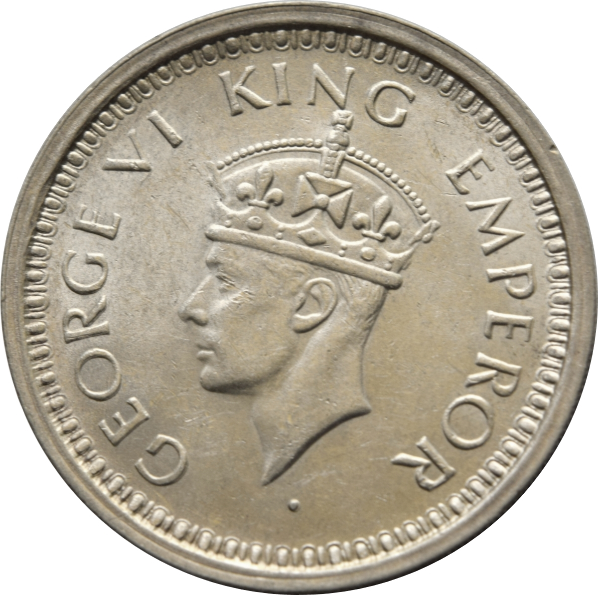 1 Rupee - George VI - India - British – Numista