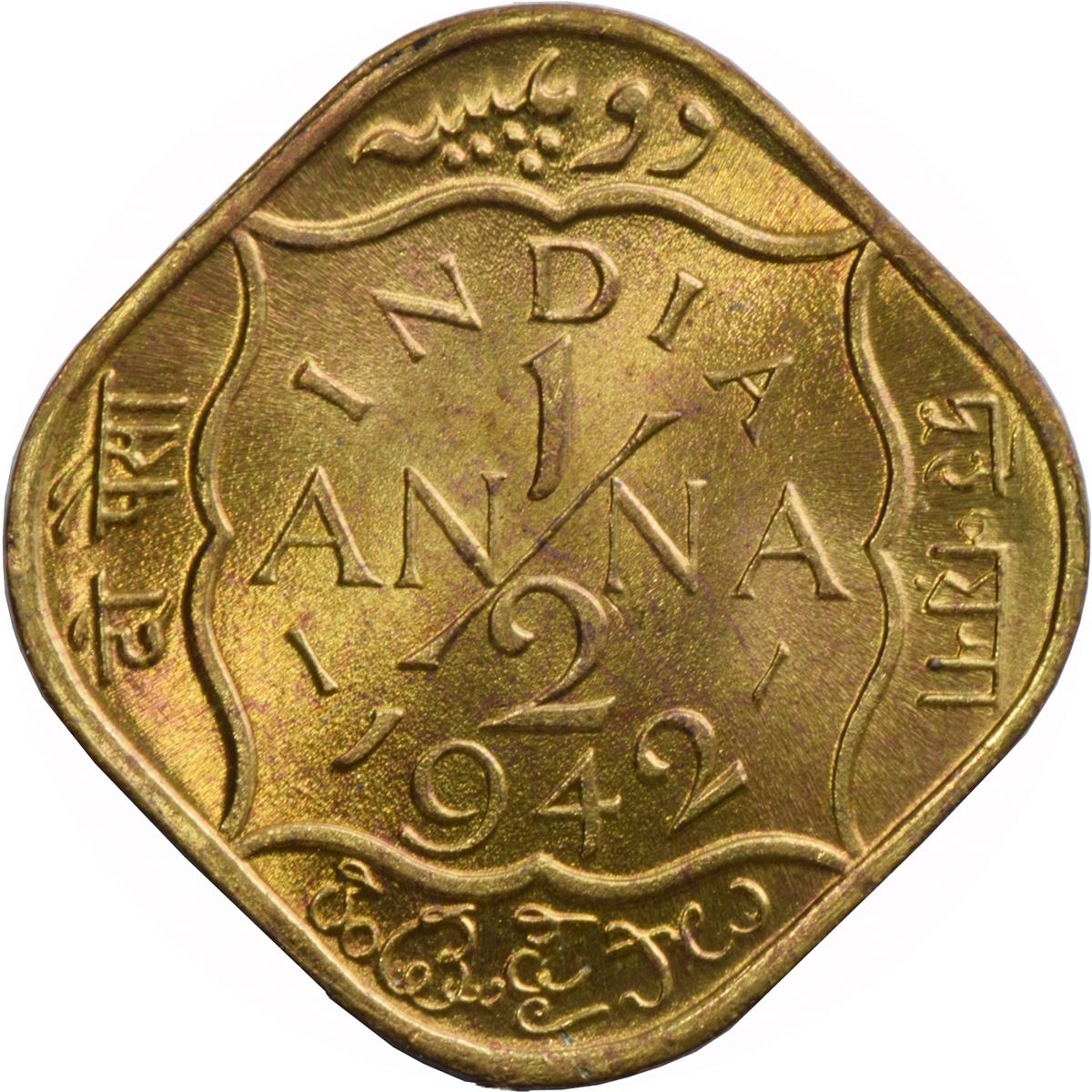 189 Anna George Vi India British Numista