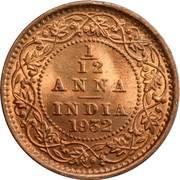 1/12 Anna - George V -  obverse