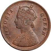 "¼ Anna - Victoria (""VICTORIA QUEEN"") -  obverse"