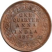 """¼ Anna - Victoria (""""VICTORIA QUEEN"""") -  reverse"""