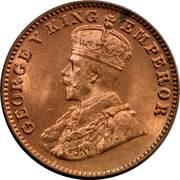 ¼ Anna - George V -  obverse