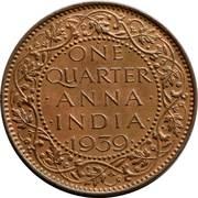 ¼ Anna - George VI -  obverse