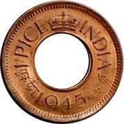 1 Pice - George VI -  obverse