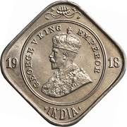 2 Annas - George V -  obverse